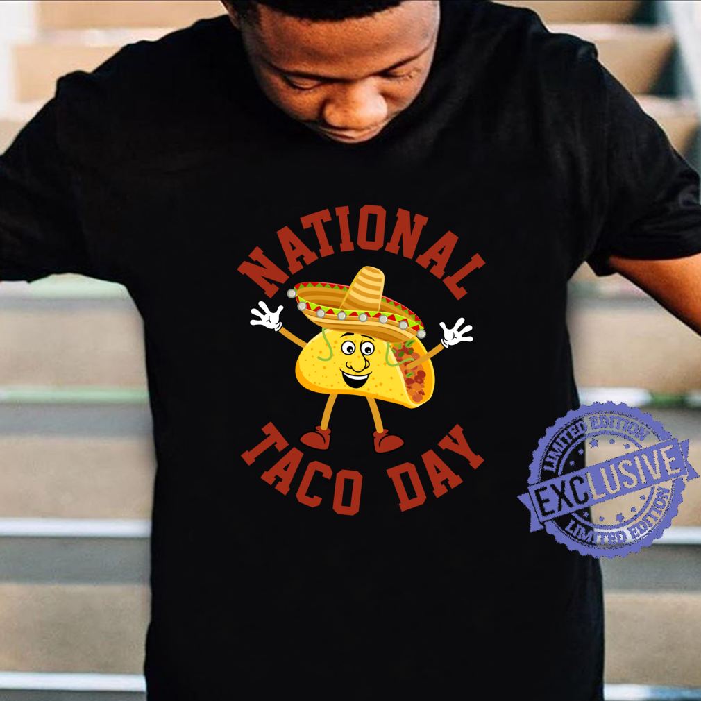 National Taco Day Mexican Fiesta Party Tacos Holiday Shirt Masswerks Store